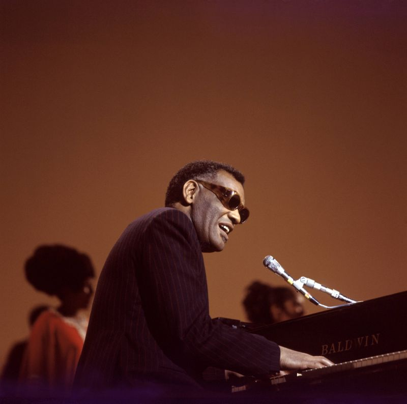Ray Charles Performing on We Love you Madly