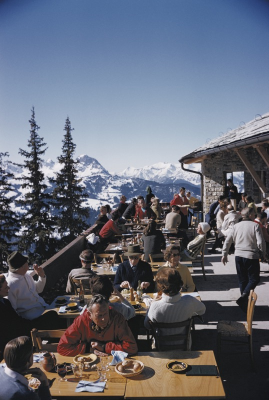 Dining In Gstaad
