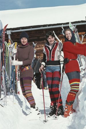Skiing In Gstaad