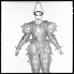David Bowie Scary Monsters Clown
