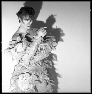David Bowie Scary Monsters Long Shadow