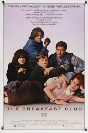 The Breakfast Club Vintage Poster *in stock*