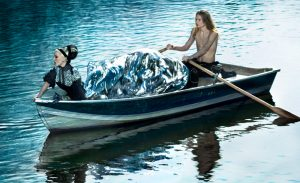 Daphne In The Boat
