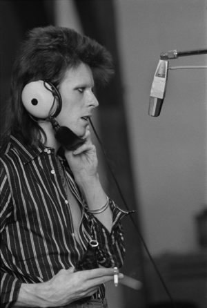 Bowie Recording Pin Ups