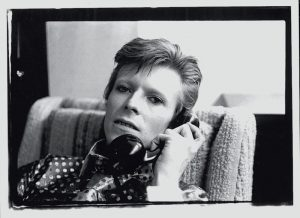 Bowie On The Phone