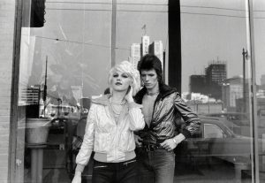 Bowie And Cyrinda Foxe
