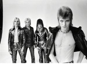 David Bowie With The Spiders