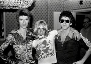 David Bowie With Lou Reed And Iggy Pop